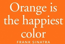 Orange Crush / It just makes me happy to look at orange.  I think Frank Sinatra would agree. ;)  And then there is my inspiration...  / by Juli-Ann Williams