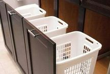 Laundry Room Ideas / There's no such thing as having too much storage in a laundry room. These plans make clever use of their space, large or small.