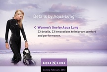 Details by Aqua Lung / Aqua Lung women understand that performance, quality, and style are all about details. From the ergonomic and fashionable designs to the fit and comfort of our women's line, no detail has been overlooked. / by Aqua Lung Divers