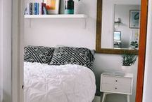 Home: Bedroom Ideas / by Hannah Pickering