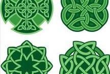celtic ogham / Old writing style form Ireland