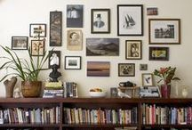 bookcases / shelves