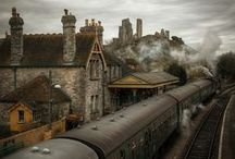 Bygone Era Of Steam ~ / by Rene~♥