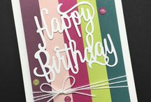 stamping - in colors / featuring Stampin' Up! In Colors