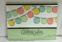 """stamping - happy congratulations / cards & projects featuring the stamp set """"Happy Congratulations"""" from Stampin' Up!"""
