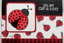 stamping - ladybugs