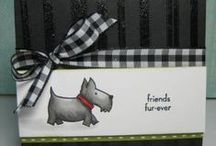 stamping - dogs / paper crafting projects featuring adogable images! ;)