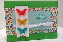 stamping - butterflies