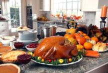 Thanksgiving / A collection of ideas for decorating, fixing the perfect turkey, and a variety of sides and desserts.