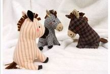Free Toy Sewing Patterns / Free Sewing Patterns for Soft toys, toys for kids and dolls clothing  / by On the Cutting Floor