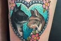 cat tattoo / collection of cat tattoos