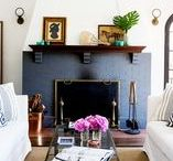 Living Rooms / Living room decorating ideas, living room design, living room decorating tips, vintage inspired living rooms