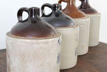 crocks and jugs / by Gina Dewan