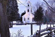 churches / by Gina Dewan