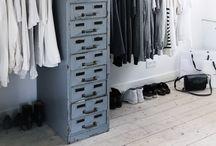 Wardrobe & Makeup place & organizer