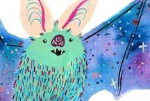My Work / My paintings, prints and comics!   www.melindaboyce.com etsy.com/shop/melindaboyce / by Melinda Boyce