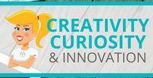 Creativity, Curiosity & Innovation / Ideas and resources to support creativity, curiosity and innovation in the classroom.
