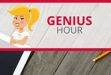 Genius Hour / Resources and ideas for Genius Hour or 20% time in the classroom.