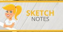 Sketch Notes / Examples and ideas for visual note-taking.