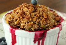 Desserts: Crisps and Crumbles / by Maryam Abrahim