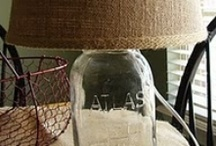 mason jars / by Amy Sneathen-Magers