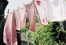 """Drying Weather / Nothing says """"fresh"""" quite like clothes that have been dried by the wind and the sun."""