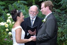 Wedding Officiant  In Action / Here are photos of me at different locations, choose one or a variety to Pin on your Boards.