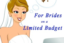 Affordable Wedding / Discover ideas and options for a more affordable, low budget wedding ceremony.