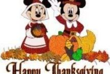 Disney at Home~ Thanksgiving / http://www.distherapy.com/