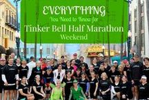 Tinker Bell Half Marathon Weekend / ALL things Tinker Bell Half Marathon.  19 runners give their best stories, tips, and pixie dust for the Tinker Bell Half Marathon Weekend.  #VirtualrunDisney