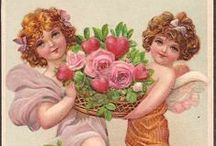Vintage Valentines / Vintage Valentines from a time when romance was very sweet.