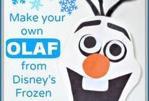 "All Things Olaf / Do you want to build a snowman?  If so, you've come to the right place!  We've collected tons of Olaf crafts, recipes, party ideas and more.  Check out our ""All Things Olaf"" board to add to YOUR Frozen fun!"