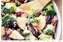 salads / Salad recipes, salad ideas, dinner salad, side salad, chicken salad, steak salads, vegetarian salad, broccoli salad, fruit salad, chop salad, paleo salad, every kind of salad - yum yum! / by Mama Loves Food