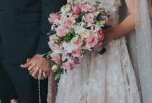 BUQUÊ DA NOIVA - Casamento / Buquês inspiradores e de todos os estilos dos casamentos e noivas do blog Noiva de Evasê
