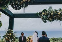 CASAMENTO NA PRAIA - Casamento / Inspirações e referências de decoração de todos os estilos e cores para casamento na praia.