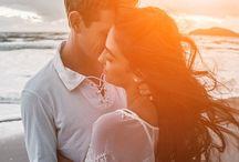 ENSAIO DOS NOIVOS - CASAMENTOS / Inspirações de fotos e ensaios fotográficos de noivos para o pré wedding