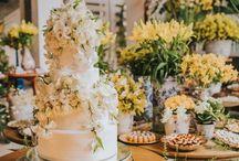 BOLO DE CASAMENTO - Casamento / Inspirações para bolo de casamento