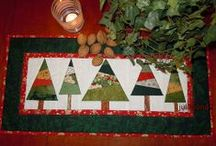 Christmas Quilting / by Nancy Powell