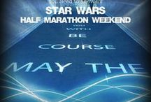 Star Wars Half Marathon Weekend / ALL things Star Wars Half Marathon.  Light sabers at the ready! We've joined Forces to create a virtual planner- registration to finish line to Galactic Grill- for Star Wars Half Marathon Weekend. Join these 20 Light Side authors for your virtual race experience. You have the power!!