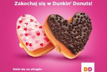 Fall In Love With DD! / Zakochaj się w Dunkin' Donuts!