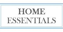 Home Essentials / Home décor ideas and recommendations for the kitchen, bedroom, entryway, bathroom, laundry room, and beyond.