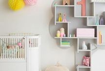 Baby Nursery Decor / Beautiful inspiring baby nursery rooms to make decorating fun and easy. Included are photos of rooms that have used Bright Star Kids Wall Art, plus other fabulous spaces that we've been inspired by.