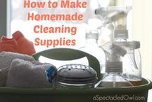 Home organizing/cleaning/ideas / Home Organization, Cleaning Tips, Homemade Cleaning Supplies / by Tara {A Spectacled Owl}