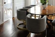 D I N I N G  R O O M / Feast your eyes upon these well designed dining rooms
