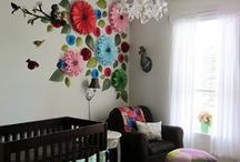 N U R S E R Y / The playroom or nursery is the cutest room in any home.  Not to mention filled with love for the little blessings that live in them.