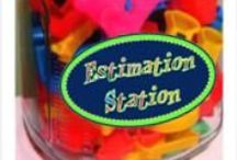 School- Estimation / by Samantha Remondelli