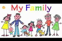 School- All About My Family / by Samantha Remondelli