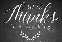 celebrate // thanksgiving