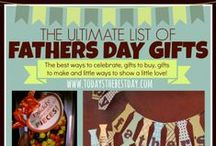 Father's Day / Father's Day Gifts, Recipes and more / by Tara {A Spectacled Owl}