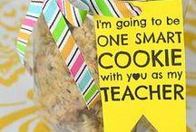 Teacher Appreciation Ideas / Teacher Appreciation gifts, recipes & end of the year ideas